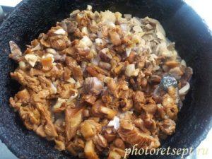 грибы сковорода