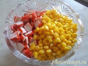 кукуруза крабы