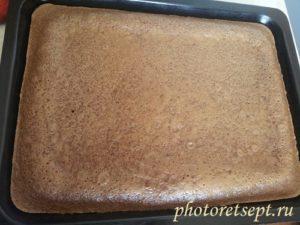 шоколадный корж