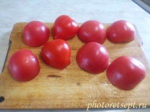 перевернуть томаты
