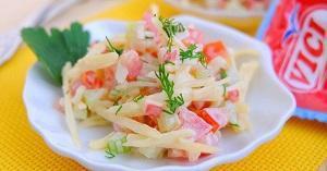 салат помидоры сыр
