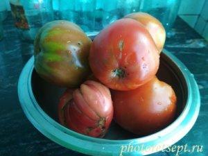 томаты вымытые