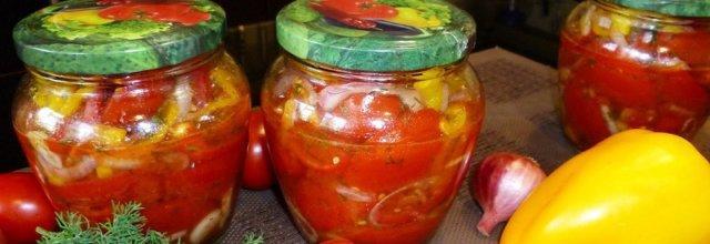 помидоры на зиму дольками рецепт