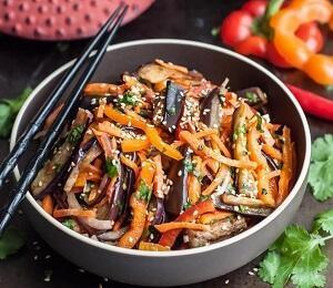 баклажаны как грибы рецепт корейский