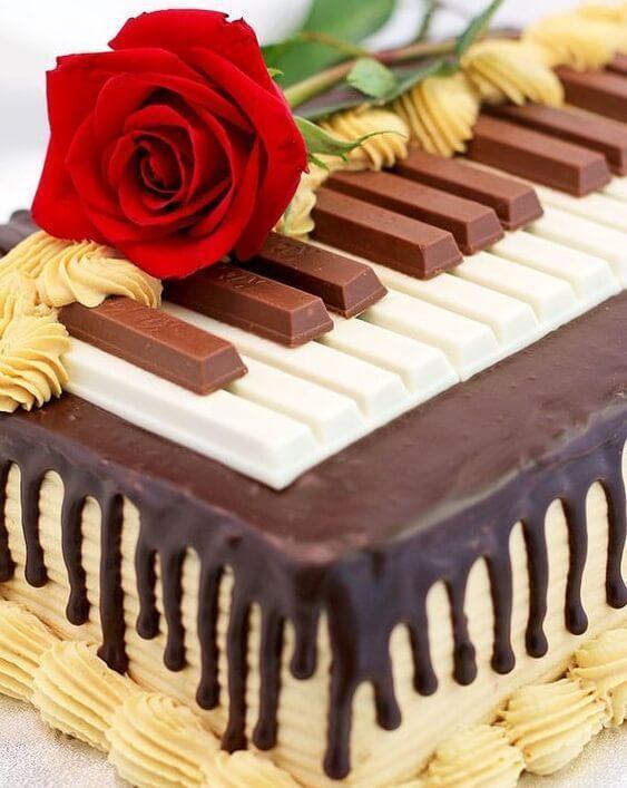 шоколадки на торт
