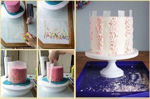 посыпка на торт