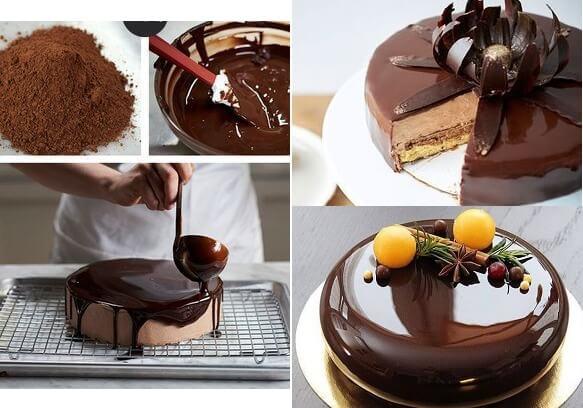 глазурь домашняя для торта