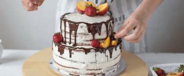украшение домашнего тортика