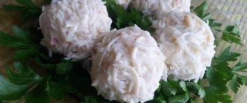 салат рафаэлло рецепт с фото