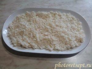 рис на блюде