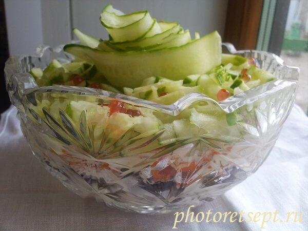салат восторг рецепт с фото
