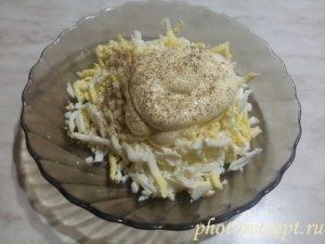 яйца майонез перец