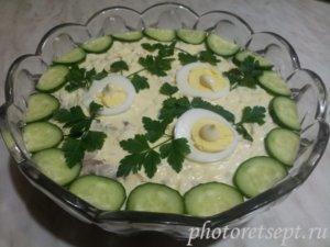 курочка ряба салат классический