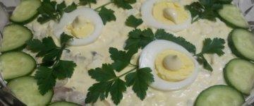курочка ряба рецепт салата