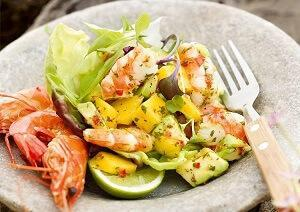 фруктовый царский салат