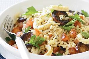 салат с кальмарами гавайская смесь