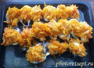 морковь на рыбу с майонезом