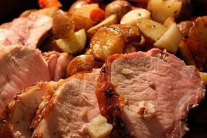 новогоднее гусиное мясо
