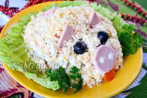 свинья салат