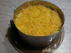 сыр слой салат