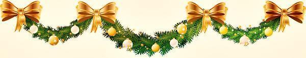 ленточка новый год елка