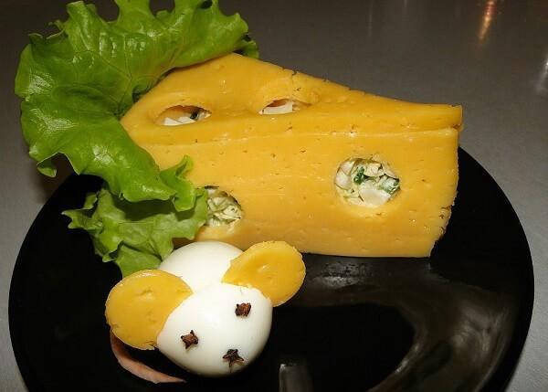 украсить салат мышка фото 5
