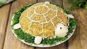 черепаха салат