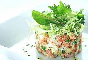 салат рыба новый