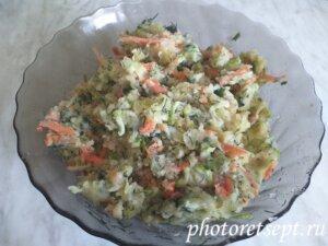 картофельно кабачковый фарш