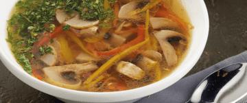 грибной суп постный рецепт