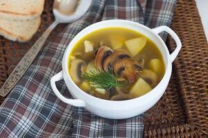 суп с шампиньонами варианты