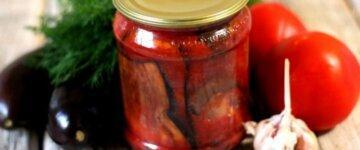 баклажаны тещин язык рецепт с фото