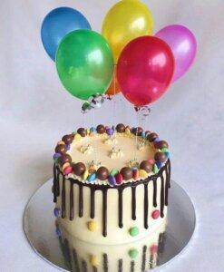 детский торт печенье и конфеты 3