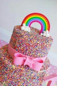 детский торт посыпка 6