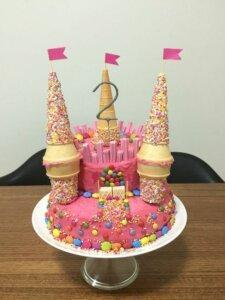 детский торт вафли 2
