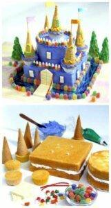 детский торт вафли 3