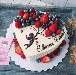 фрукты для украшения торта 2