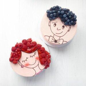 фрукты для украшения торта 3