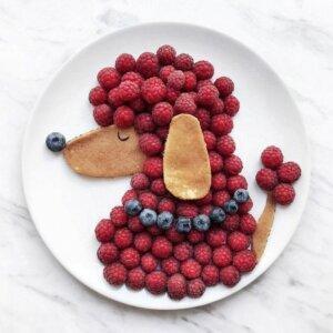 фрукты для украшения торта 4