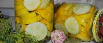 кабачки маринованные рецепт на зиму