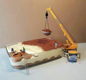торт детский украшение кремом 3