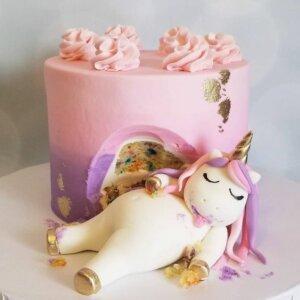 торт детский украшение кремом 1