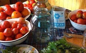 помидоры холодным способом рецепт 1
