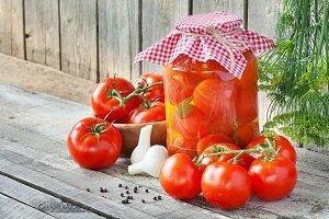 помидоры холодным способом рецепт 4