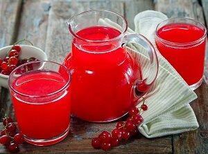 сок из красной смородины