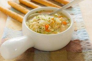 суп рисовый