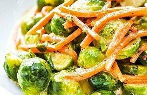 капуста брюссельская салат