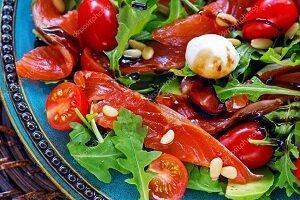 салат киви рыба