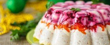 салат необычный новый год