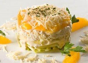 салат яйцо апельсин